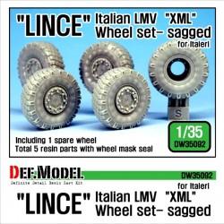 Italian LMV Lince XML Wheel...