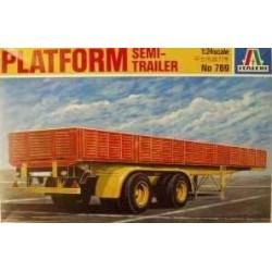 Platform Semi Trailer