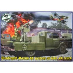 Quadruple Maxim AA system...