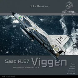 Saab 37 Viggen Flying with...