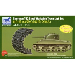 Sherman T62 Steel Workable...