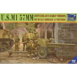 U.S. M1 57mm Anti-Tank Gun...