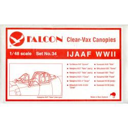 IJAAF WWII Clear-Vax Canopies