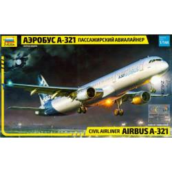 Civil Airliner Airbus A-321...