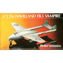 De HAVILLAND FB.5 Vampire