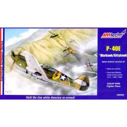 """P-40E """"Warhawk/Kittyhawk"""""""