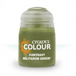 CONTRAST: MILITARIUM GREEN