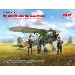 Fiat CR.42 LW with German...