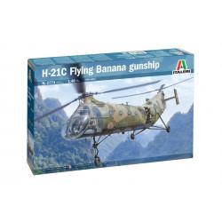 "H-21C ""Flying Banana"" Gunship"