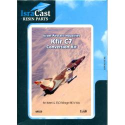 IAF Kfir C7 Conversion