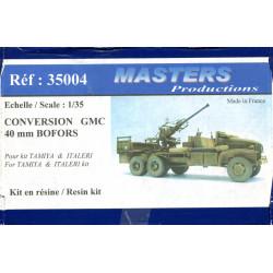 Conversion GMC 40 mm BOFORS...