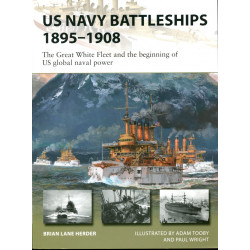 US Navy Battleships 1895-1908
