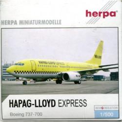 Boeing 737-700 Hapag-Lloyd...