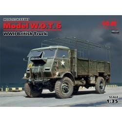 Model W.O.T. 6 WWII British...