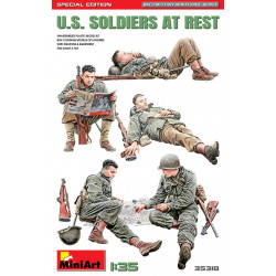U.S. Soldiers at Rest...