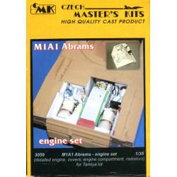 M1A2 Abrams - engine set...