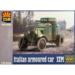 Italian Armoured Car 1ZM