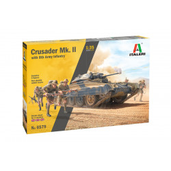 Crusader II w/ 8th Army...