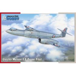 Gloster Meteor F.8 Prone Pilot
