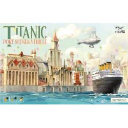 Titanic Port Scene & vehicles