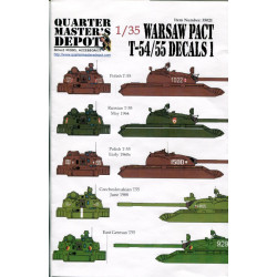 Warsaw Pact T-54/55 Decals...