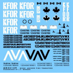 Canadian KFOR markings for...