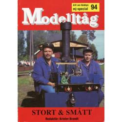 Modelltåg 94: Stort & Smått