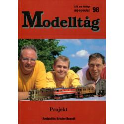 Modelltåg 98: Projekt