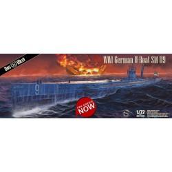 U-Boat SM U-9 German WWI...
