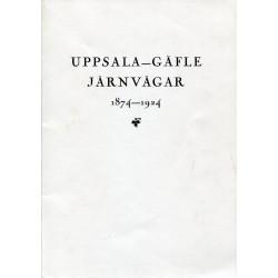 Uppsala - Gäfle järnvägar...