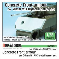 US M4A3E2 Jumbo Concrete...